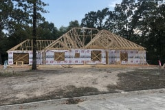 Framing Custom Home