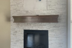 Custom Indoor Fireplace